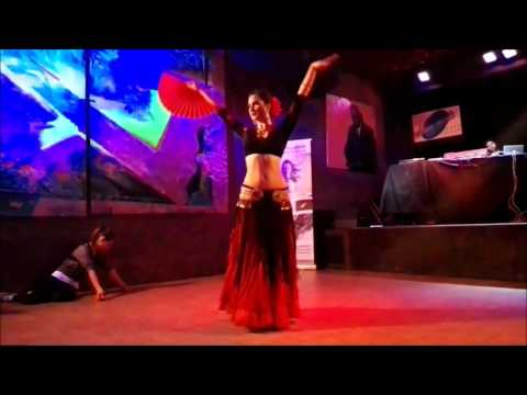 Katarzyna Lidia solo ATS® Tribal & flamenco fan