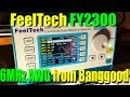 Feel Tech FY2300 Arbitrary Waveform Generator from Banggood