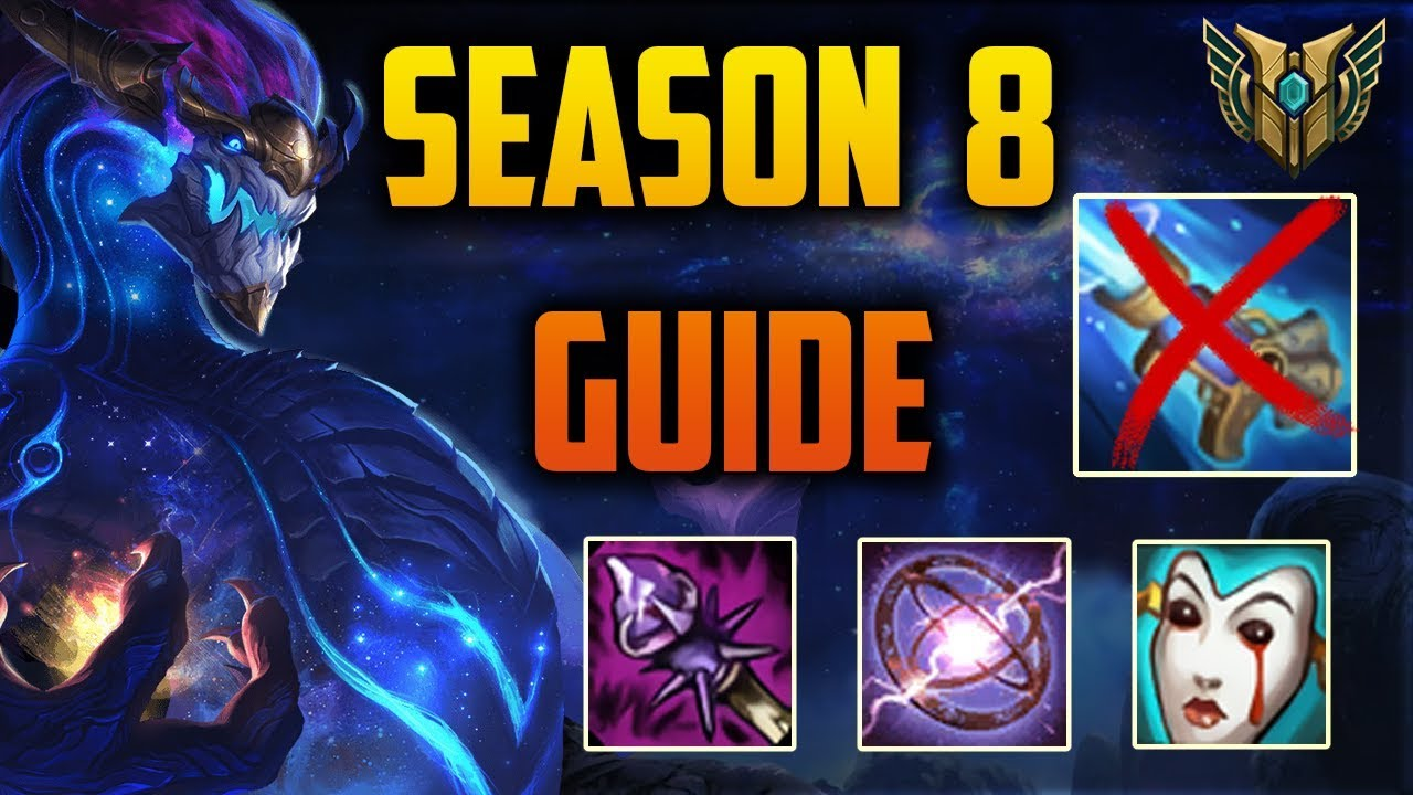 Aurelion Sol GUIDE Season 8 - Builds/Runes