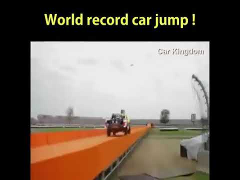 Download World record car jump