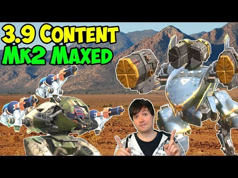 War Robots 3.9 Update: Mk2 Falcon, Exodus, Spark, Bulwark Gameplay WR