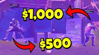 I hosted the MOST EXPENSIVE FORTNITE SKIN SCRIM EVER!!! ($10,000+)