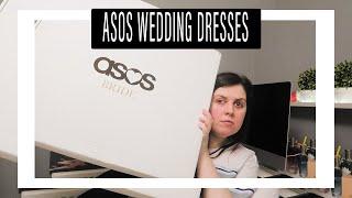 Try on wedding dresses from ASOS 2020 | Chloe Bell