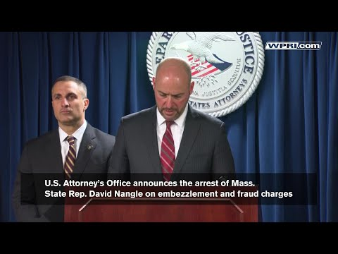 VIDEO NOW: U.S. Attorney's Office Announce Arrest Of A Mass State Rep.