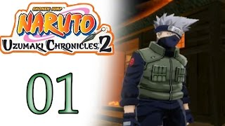 Naruto Uzumaki Chronicles 2 #01 - A Vila Em Chamas - Gameplay Lets Play PT-BR