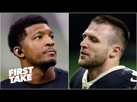 Taysom Hill, not Jameis Winston, will start for the Saints with Drew Brees injured | First Take
