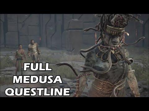 Assassin S Creed Odyssey Full Medusa Questline Atlantis