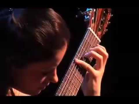 Four Pieces by Astor Piazzolla - Ana Vidovic, guitar (Part 1)