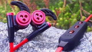 видео Беспроводные наушники для занятия спортом: краткий полезный обзор