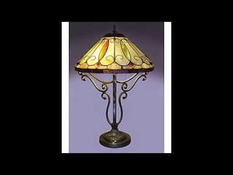 Tiffany Style Lighting   YouTube. Tiffany Style Lamps Qvc Uk. Home Design Ideas