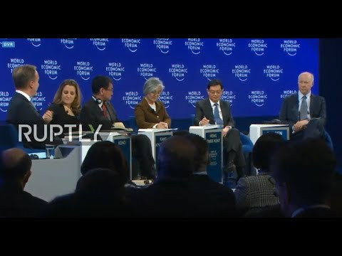 """LIVE: WEF 2019: """"The Geopolitical Outlook"""""""