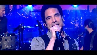 Train - Drive By ( live on  David Letterman 2012 ) [ Lyrics ]