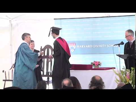 2015 Diploma Awarding Ceremony at Harvard Divinity School