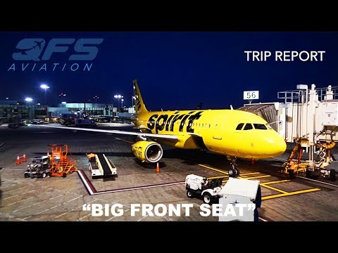 TRIP REPORT | Spirit Airlines - A319 - Los Angeles (LAX) to Baltimore (BWI) | Big Front Seat