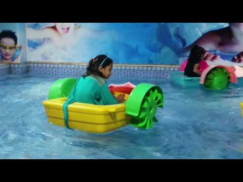 indoor hand boat racing boats for kids at Abdullah Mall Gujrat Part 4