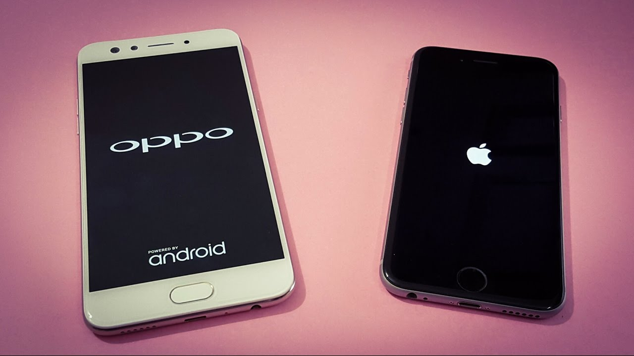 timeless design c977f 5da64 Oppo F3 vs iPhone 6 Speed Test Comparison | Which Is Faster | TechTag