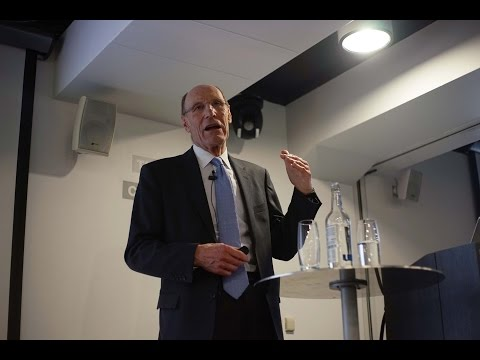 Sir John Armitt presents 'Infrastructure – Deciding The Long Term Needs'
