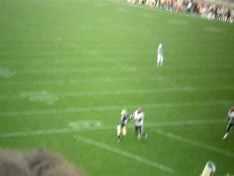 David Grimes Touchdown Vs. SanDiego St. 2008