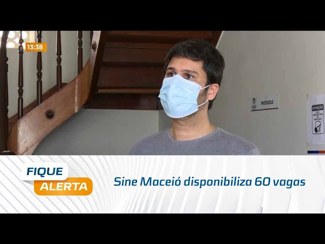 Sine Maceió disponibiliza 60 vagas para pessoas do ensino fundamental e superior completo