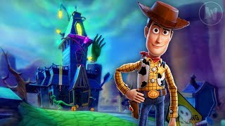 Exploring Sid's Haunted House In Toy Story 3 The Video Game