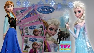 Frozen Sticker Album Pack Opening | Let's Decorate | Panini | PSToyReviews