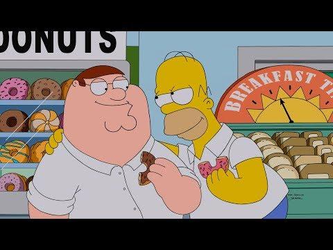 Мультяшные Кроссоверы Disney и Fox | Лило и Стич, Симпсоны, Бургеры Боба