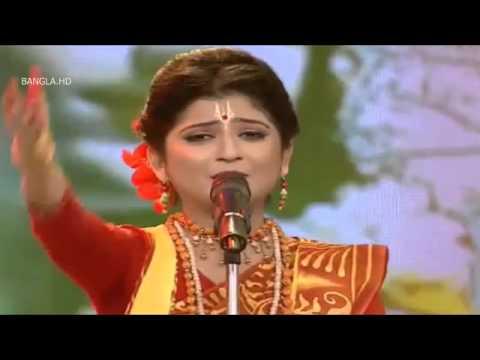 Aditi Munshi   Emon   Rabindra Songeet And Kirtan Mix   Majhe Majhe Tabo dekha pai chiradin keno pai