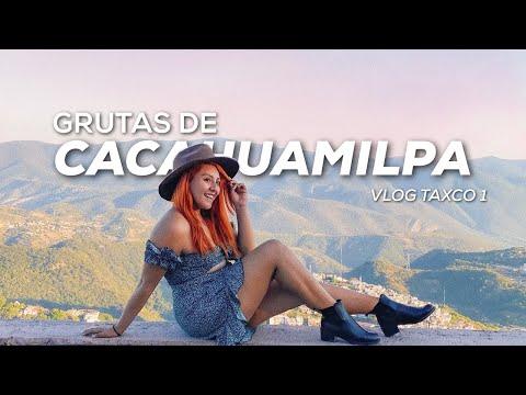 VISITE LAS GRUTAS DE CACAHUAMILPA + ACTIVIDADES EXTREMAS MI PRIMER DÍA EN TAXCO DE ALARCON / JHOEE