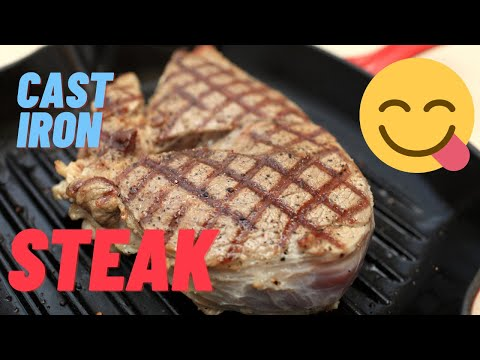 ▶️Ribeye Steak Cooked In Cast Iron / Simple Steak Recipe / Pure Joy