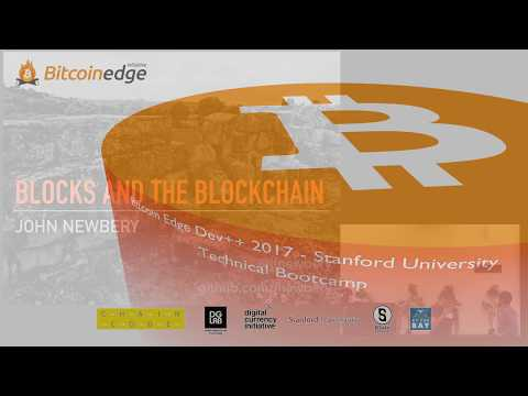 Dev++ 01-02-EN | Blocks And Blockchain - John Newbery