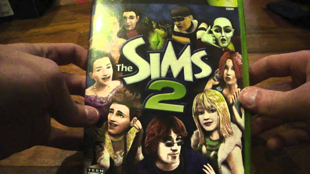 Unboxing the sims 2 for xbox youtube for Construire une maison sims 3 xbox 360