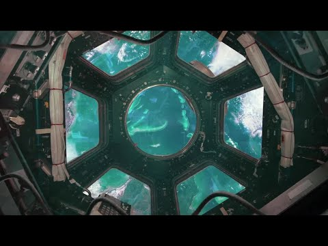 International Space Station View 2 Motion Graphics