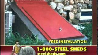 Steel Sheds and Cellar Doors from Man Products