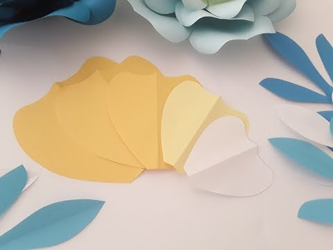 DIY Flower Template Making Tutorial
