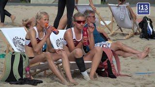 Spoorpark Tilburg 2 dagen toneel voor eredivisie beachvolleybal georganiseerd door Beach Tilburg.