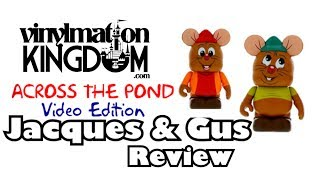 Animation 4 - Cinderella Twin Pack  Vinylmation Review