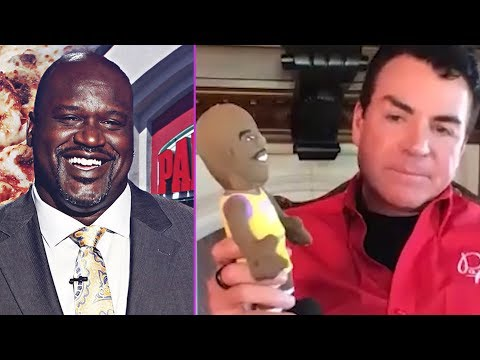 Papa John Believes Shaq Is Being Used