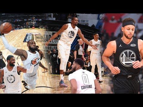 Team LeBron VS Team Curry!! | NBA All-Star Game 2018