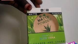 A.D.S aloe Vera MATTE powder