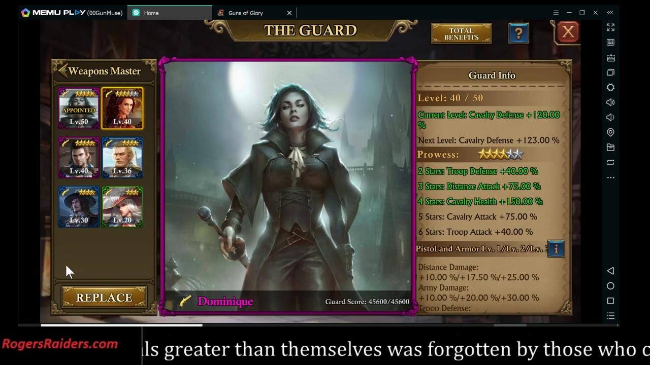 Patch 3 5 0 Guard portal update guns of glory