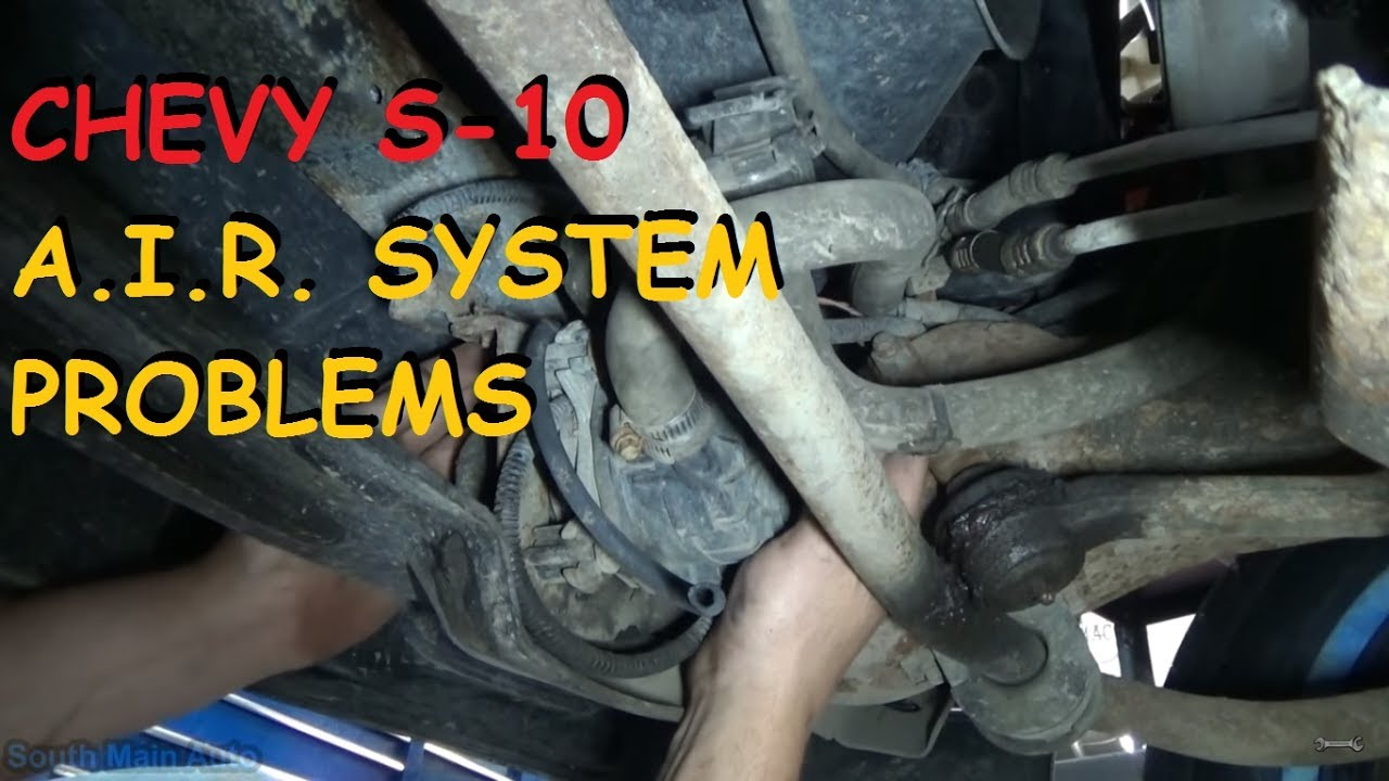 2017 Chevy S10 >> Chevrolet S10 - P0410 A.I.R. Pump Problems - YouTube
