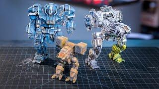 Designing 3D-Printed Mechwarrior Mechs!