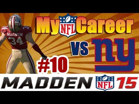 Madden NFL 15 Connected Franchise || Game 10 || 49ers vs Giants