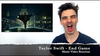 Taylor Swift - End Game ft. Ed Sheeran, Future | Music Video Reaction