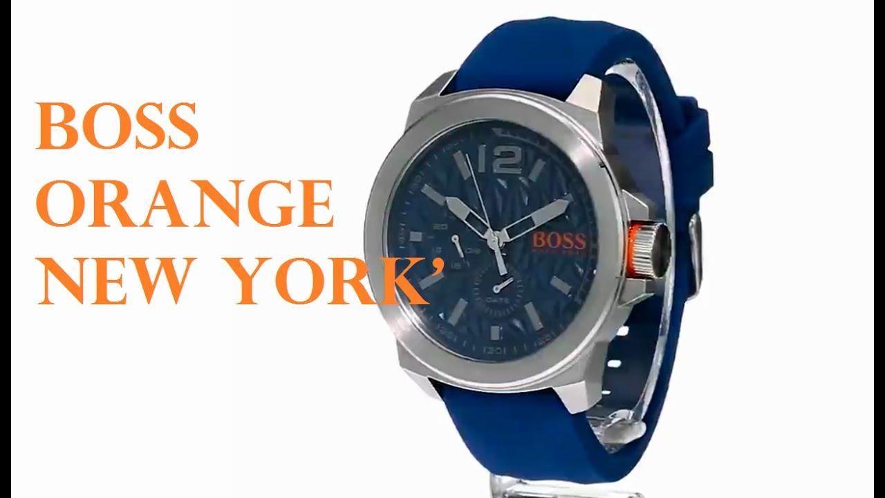efed5ab339db BOSS Orange Men s 1513348 NEW YORK - YouTube