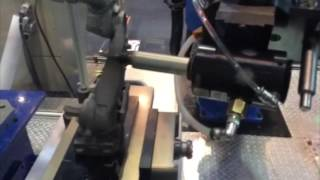 Robotic Deburring on FANUC Robot by Air Turbine Spindles® 50000 rpm 0 50 hp 625LJS HD