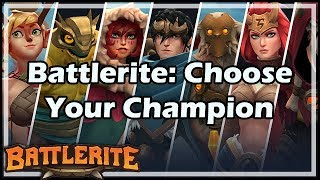 Battlerite: Choose Your Champion