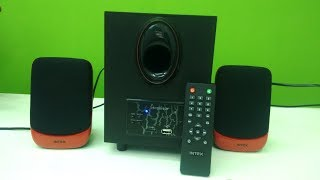 Budget 2 1 Speaker for Laptop PC Intex IT-1700 Review amp Testing
