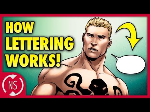 How CAPTAIN AMERICA Demonstrates BRILLIANT Comic Book Lettering! || NerdSync