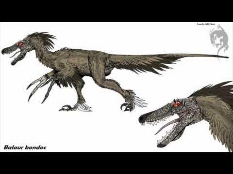Ancient Reptile Tribute Three: Balaur Bondoc / Dromaeosaurid - Dinosaur.